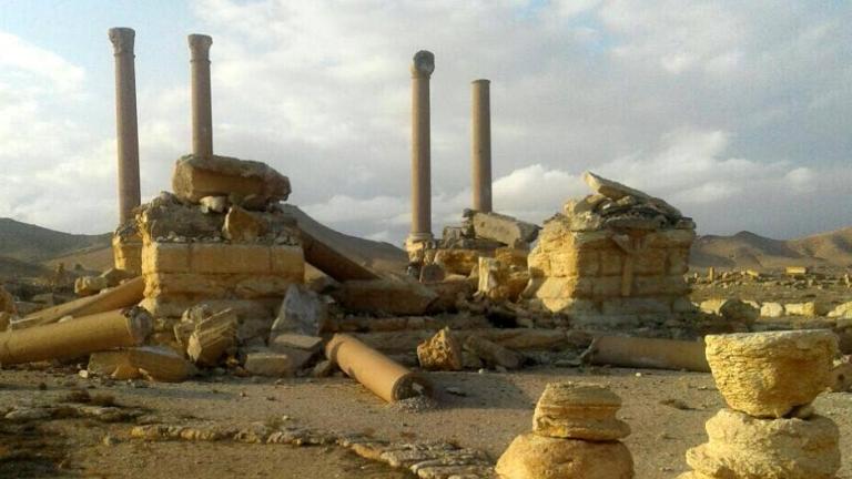 Сирийската армия прочиства Палмира от експлозиви