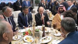 Шефът на руското разузнаване се срещнал с Мохамед бин Салман