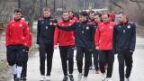 Трима пропуснаха тренировката на ЦСКА