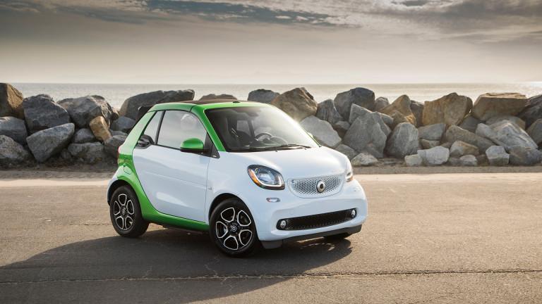 Daimler иска да произвежда електрически Smart в Китай