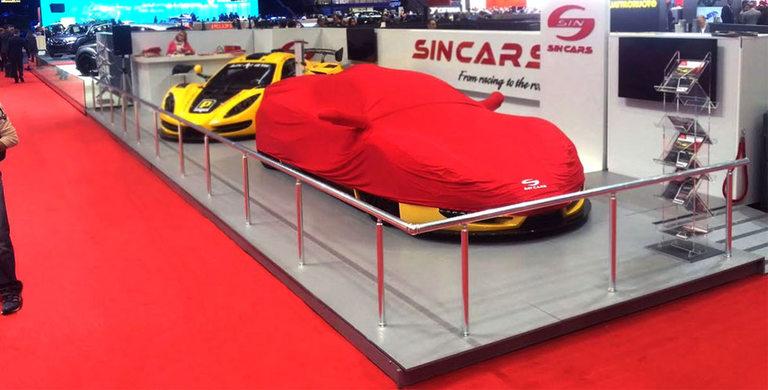 Снимката от Автосалона в Женева, която SIN CAR са публикували в сайта си