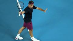 Федерер: Доволен съм от формата, в която се намирам