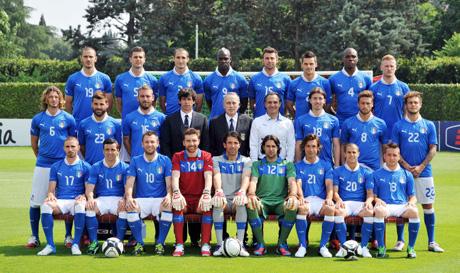 Италия-непредвидимата футболна сила