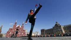 Генерална репетиция за парада на победата се проведе на Червения площад в Москва