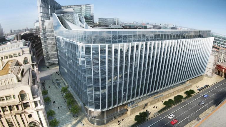 Банката на Уолстрийт се готви да продаде новата си европейска централа
