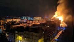 Пожар опустоши Училището по изкуства в Глазгоу