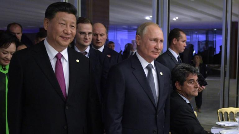 Китайският президент Си Дзинпин се срещна с руския президент Владимир