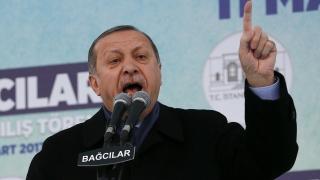 Ердоган към ОССЕ: Знайте си мястото!