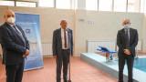 """Зам.-министър Андонов и министър Вълчев откриха реновирания басейн """"Мадара"""""""