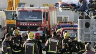Евакуираха плаж на Ибиса заради пожар