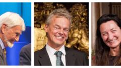 Трима учени печелят Нобеловата награда за медицина за 2014 г.