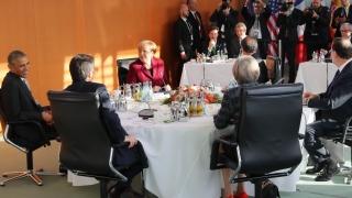 Обама и евролидери се разбраха да поддържат сътрудничеството през НАТО след победата на Тръмп