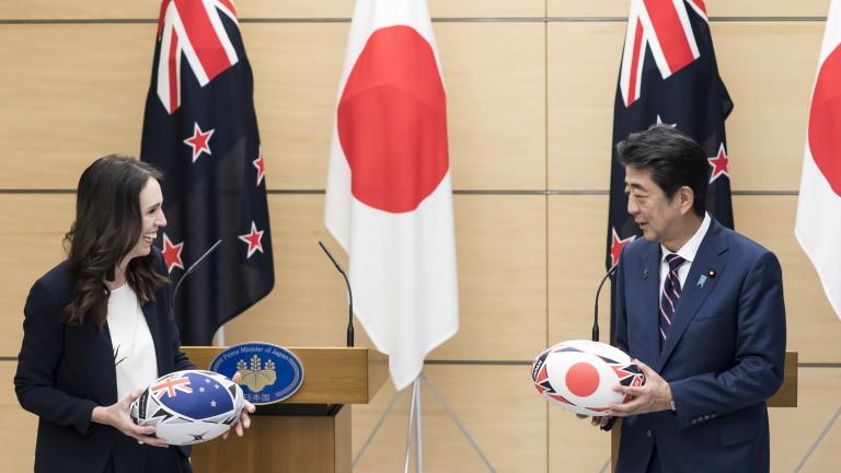 Премиерът на Нова Зеландия с гаф - сбърка Япония с Китай по време на визита в Токио