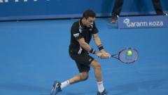 Роберто Баутиста Агут е първият полуфиналист на турнира в София