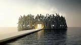 Arctic Bath - плаващият хотел в Швеция