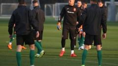 Националите с последна тренировка преди мача с Черна гора (СНИМКИ)