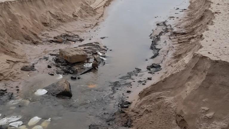 Сигнал за разорани дюни на плаж Каваците в община Созопол