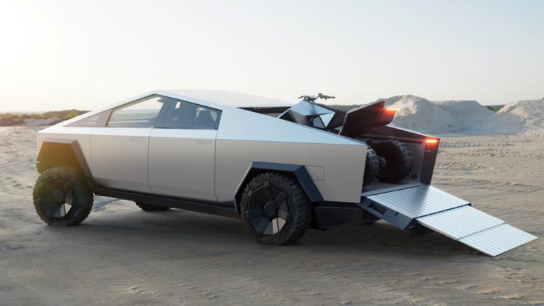 Какво знаем за мистериозното ATV на Tesla