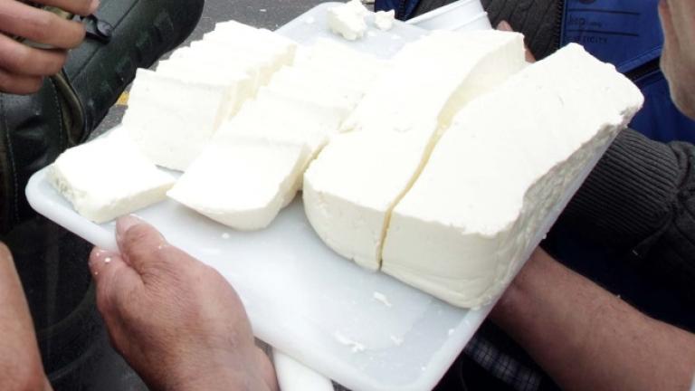 """Ако сиренето съдържа над 60% вода, то вече няма да може да бъде наричано """"сирене"""""""