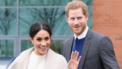 Родителите на Меган Маркъл на среща с кралицата преди сватбата