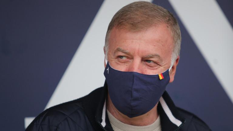 Наско Сираков: Славиша ще бъде и спортен директор на Левски