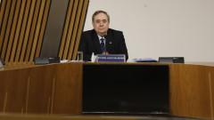 Бившият лидер на Шотландия Алекс Салмънд се връща в политиката с нова партия
