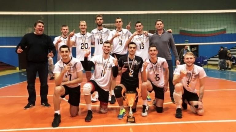 Волейболният Славия се завърна в Суперлигата