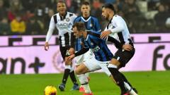 Интер победи като гост Удинезе с голове на Лукаку