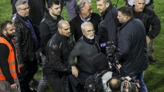 В Гърция спряха футболното първенство