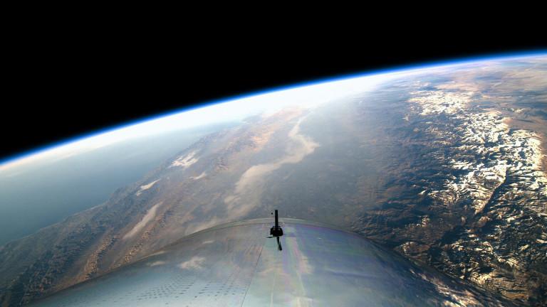 Virgin Galactic успешно завърши втория си тестови полет в Ню