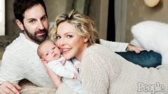 Катрин Хейгъл показа бебето си