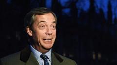 Пълен провал на британската дипломация за Брекзит, гневен Фараж