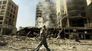 От Бейрут дават по $ 33 000 на ударена от бомба къща