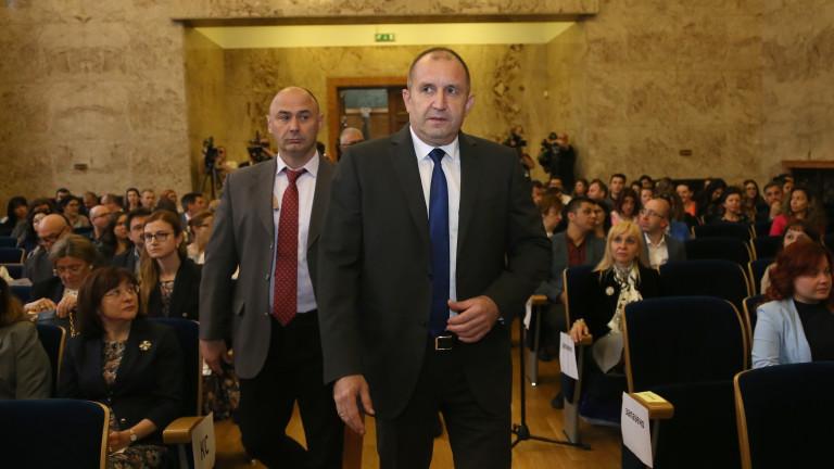 Президентът очаква и обществените организации на разговора за нов главен прокурор