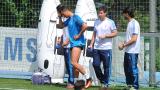 Роналдо разясни за контузията