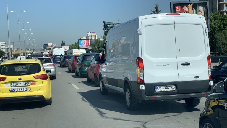 Транспортна тапа на Околовръстното на София