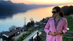 Райна на ваканция в Швейцария (СНИМКИ)