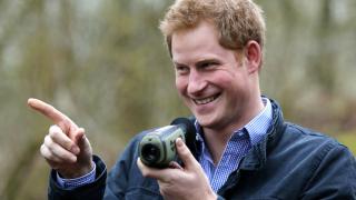 Принц Хари не бил от Чарлз