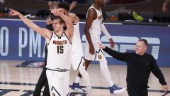 Денвър с нов подвиг, Нъгетс се класираха за финала на Запад в НБА