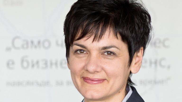 Главният изпълнителен директор на Siemens България д-р инж. Боряна Манолова