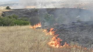 От огън за печене на зимнина тръгнал пожарът в Маджарово