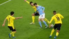 Борусия помечта за кратко, но Манчестър Сити показа класа и е на полуфиналите на Шампионска лига
