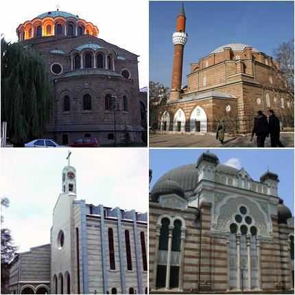Макет на 4 храма – туристически символ на София