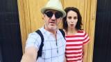 Радина Кърджилова, Деян Донков и ваканцията им в Гърция