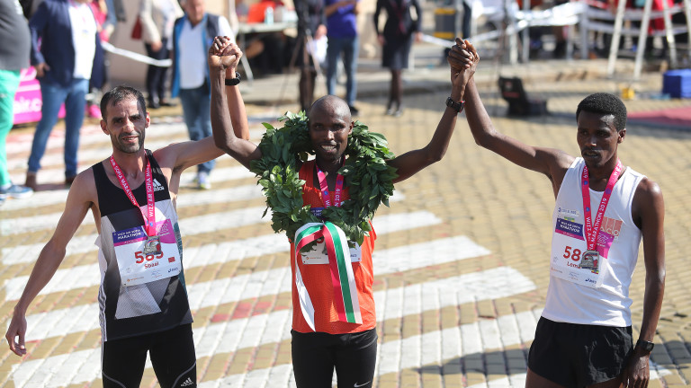 Кениецът Хосей Туей спечели 36-ия лекоатлетически маратон на София. Туей