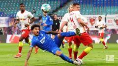 Само точка за РБ (Лайпциг) от мача с Хофенхайм, разликата с Байерн (Мюнхен) е 4 точки