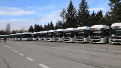 30 нови автобуса тръгват по улиците на София