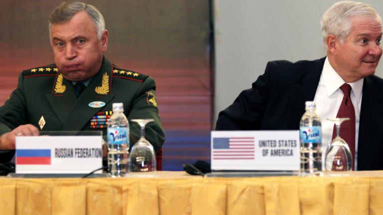 Началникът на Генералния щаб на въоръжените сили на Русия Валери
