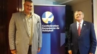 Президентът на CEV: Любо Ганев ще е от най-важните бъдещи лидери на европейския волейбол
