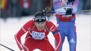 Бьорндален отново поведе за Световната купа по биатлон